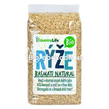 Basmati rice Bio 500 g natural Country life